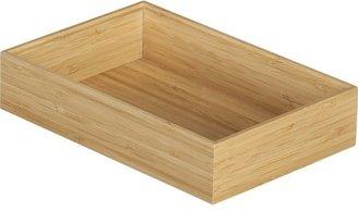 Crate & Barrel Bamboo 6x9 Drawer Organizer