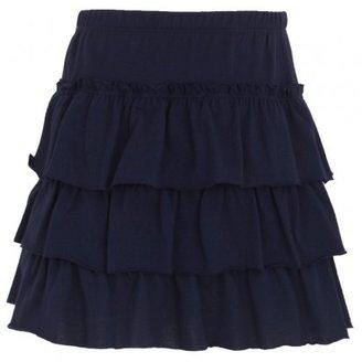 Petit Bateau Navy Ra Ra Skirt