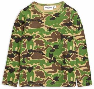 Mini Rodini Camo Long-Sleeve T-Shirt 2-8 Years