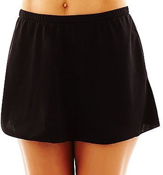 JCPenney Trimshaper® Hula Rylee Tankini Swim Top or Solid Black Skirt