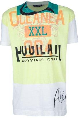 Dolce & Gabbana Gym printed t-shirt