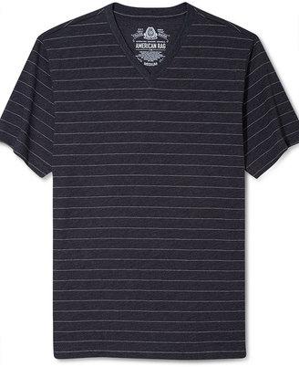 American Rag Shirt, Stripe Short Sleeve V Neck T Shirt