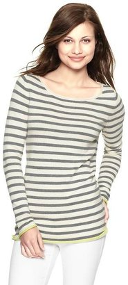 Gap Tipped roll-edge stripe sweater
