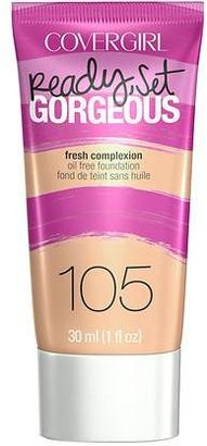 CoverGirl Ready, Set Gorgeous Liquid Makeup Foundation $8.99 thestylecure.com