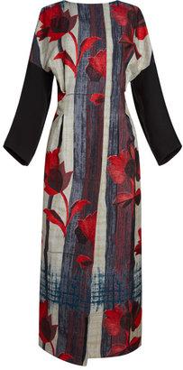 Marni Double Brushed Flower Print Dress