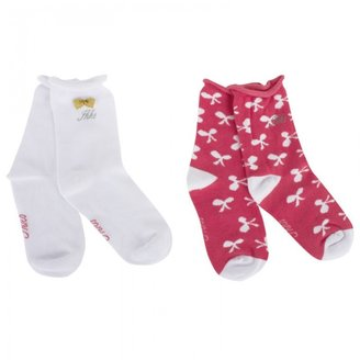 Ikks Duo of Branded Socks