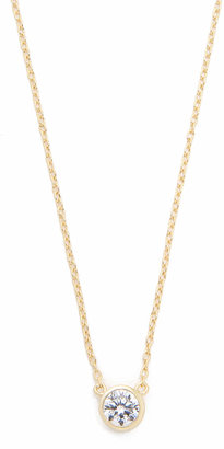 Shashi Solitaire Necklace $55 thestylecure.com
