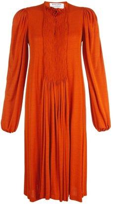 David Szeto Burnt Orange Mia Dress