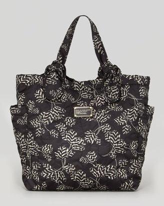 Marc by Marc Jacobs Pretty Nylon Tate Printed Medium Tote Bag, Black