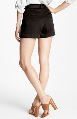 Vince Camuto Self Tie Pleat Shorts