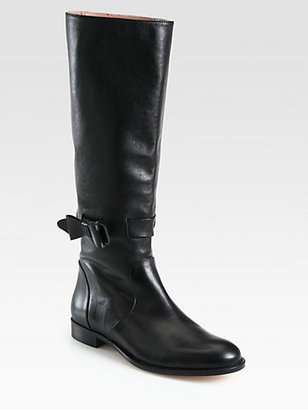 RED Valentino Tall Leather Boots