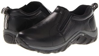 Merrell Jungle Moc Leather (Toddler/Little Kid/Big Kid) (Black) Boys Shoes