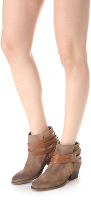 Hudson H by Horrigan Wrap Strap Booties