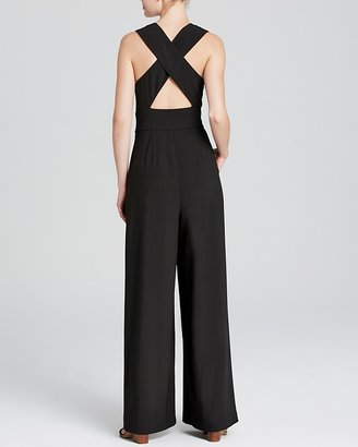 BB Dakota Jumpsuit - Woven Cross Back