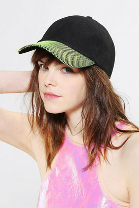 Urban Outfitters Mesh-Brim Snapback Hat