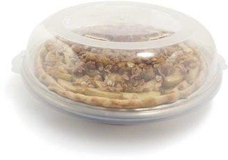 "Nordicware Covered Pie Pan, 10"" diameter"