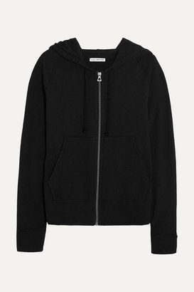 James Perse Vintage Supima Cotton-jersey Hoodie - Black