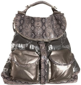 Ed Hardy Galactic Rock Neptune Convertible Backpack