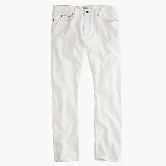 J.Crew 484 Slim White Rinse Selvedge Jean