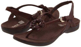 Orthaheel Dr. Weil by Dhyana Sandal (Dark Brown) - Footwear