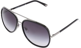 Dolce & Gabbana DG2098 (Gunmetal Frame/Gray Gradient Lens) - Eyewear