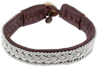 Maria Rudman Plaited chain detail bracelet