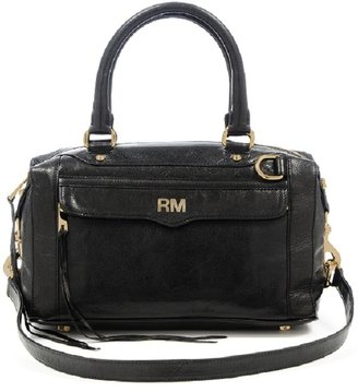 Rebecca Minkoff Black M.A.B. with Monogram