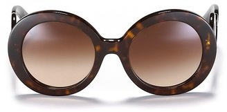 Prada Round Baroque Sunglasses, 55mm $300 thestylecure.com