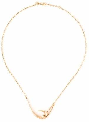 Shaun Leane 'Signature Tusk' hook necklace