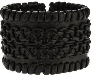 Antik Batik whip-stitch cuff