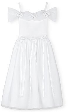 JCPenney Princess Faith White Flower Girl Dress - Girls 2t-4t