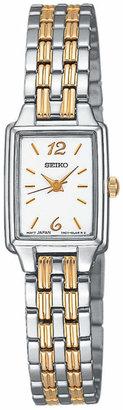Seiko Women Two-Tone Stainless Steel Bracelet Watch 24mm