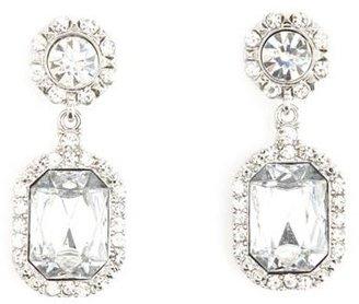 Charlotte Russe Glam Rhinestone Drop Earrings