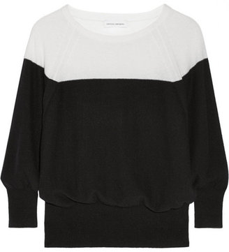 Narciso Rodriguez Two-tone cashmere sweater
