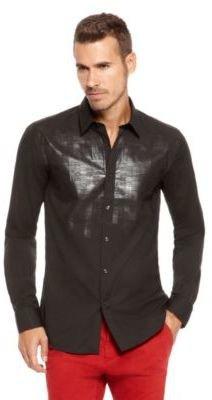 HUGO BOSS Elisha Slim Fit, Point Collar Cotton Dress Shirt