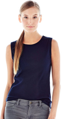 Joe Fresh Ribbed Sleeveless Top