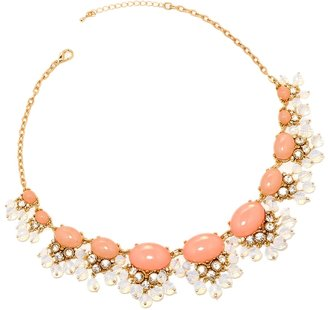 The Limited Clustered Moonstone Statement Necklace