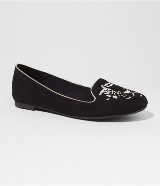 Express Embroidered Tiger Tuxedo Flat