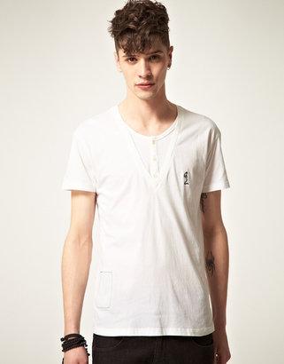 Religion Double Layer Basic T-Shirt