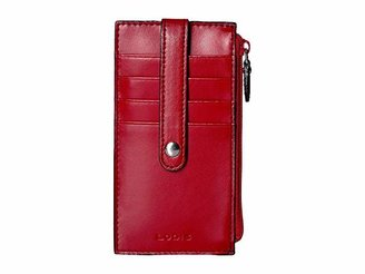 Lodis Audrey RFID 5 Credit Card Case w/Zipper Pocket