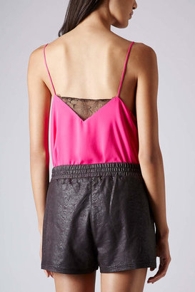 Topshop Lace insert cami