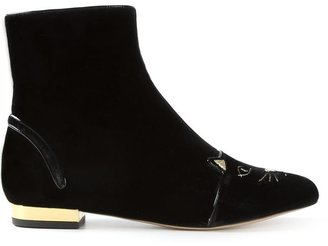Charlotte Olympia 'Puss in Boots' ankle boot