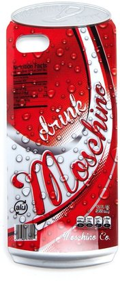 Moschino 'Drink Moschino' iPhone 5 cover