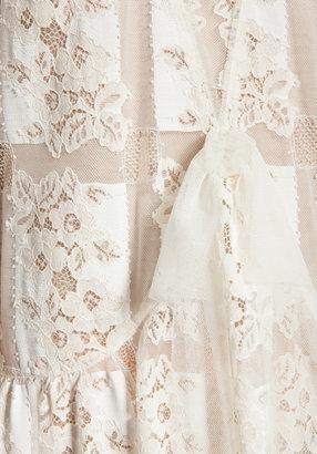 Anna Sui Handkerchief Lace Dress