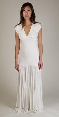 Sky Susann Maxi Dress in White