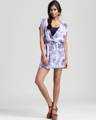 Chaser Dress - Tie-Dye Surplice