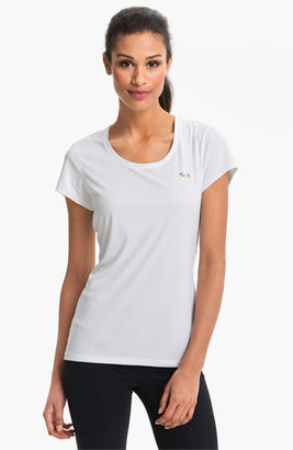 Women's Under Armour 'Flyweight' Semifitted Heatgear Tee $29.99 thestylecure.com