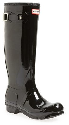Women's Hunter Original High Gloss Boot $150 thestylecure.com