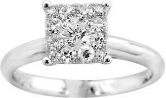 MODERN BRIDE Brilliant Dream 1/2 CT. T.W. Princess-Style Engagement Ring
