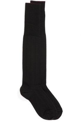 Men's Nordstrom Men's Shop Over The Calf Wool Socks $14.50 thestylecure.com